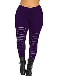 Amazon.fr   5XL - Leggings   Femme   Vêtements e273bbd7a39