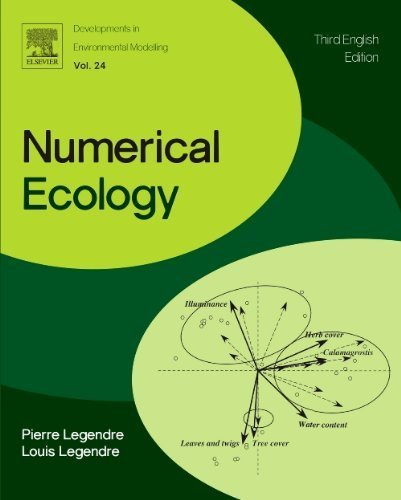 Numerical Ecology, Volume 24, Third Edition (Developments in Environmental Modelling) by Legendre, P., Legendre, Loic F J (2012) Paperback
