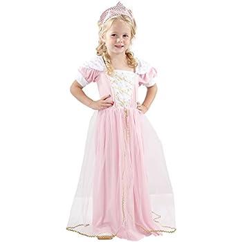 pink girls princess fancy dress costume age 3 amazonco