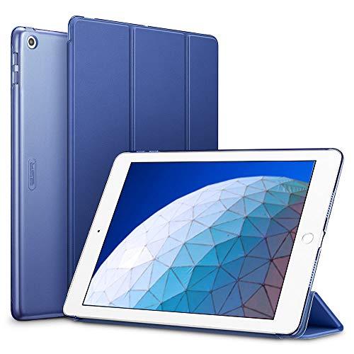 ESR Hülle kompatibel mit iPad Air 3 2019 10.5 Zoll - Ultra Dünnes Smart Case Cover mit Auto Schlaf-/Aufwachfunktion - Kratzfeste Schutzhülle für iPad Air 3th Generation - Blau