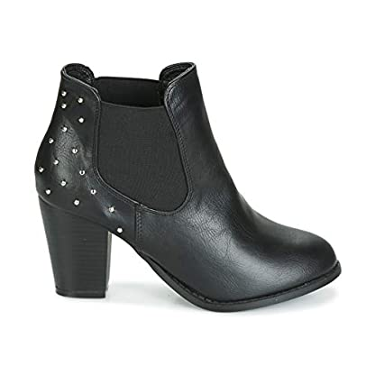moony mood JURDEAN Ankle Boots/Boots Women Black Ankle Boots 2
