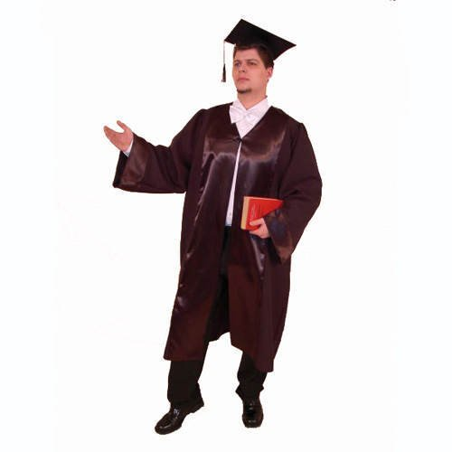 Festartikel Müller  11924000 Party-Kostüm, Robe für Richter, Anwalt, Doktorand, Einheitsgröße (Richter Robe Kostüm)