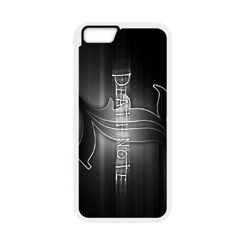 Death Note coque iPhone 6 4.7 Inch Housse Blanc téléphone portable couverture de cas coque EBDXJKNBO11649