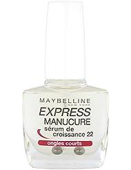Gemey-Maybelline - Express Manucure  - Vernis à ongles soins  - Sérum de Croissance 22 ongles courts