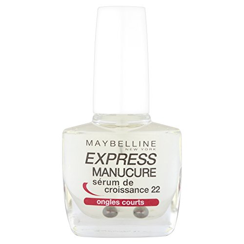 Maybelline New York Express Manucure Vernis à Ongles Soins Sérum de Croissance 22 Ongles Courts