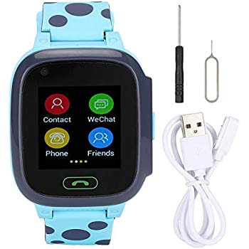 Tosuny Reloj Inteligente para niños con rastreador GPS, 1.44 ...