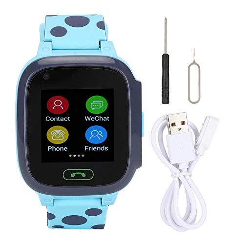 Tosuny Reloj Inteligente para niños con rastreador GPS, 1.44 Pulgadas 1.3MP 4G...