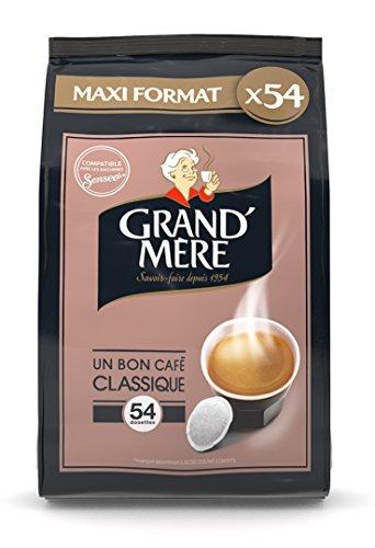GRAND MERE Café Classique - 270 Dosettes Souples - Lot...