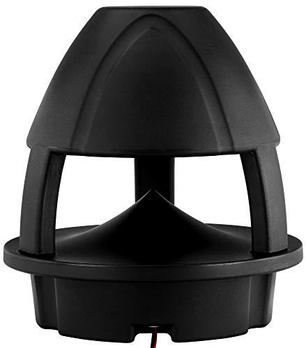 "Pronomic HLS-560 BK 360° Gartenlautsprecher (2-Wege, Outdoor Lautsprecher Box, 5,25\"" (133 mm) Woofer, 1,2\"" (30 mm) Tweeter, UV-resistent, wasserdicht, 60/120/240 Watt RMS/Musikleistung/Peak) schwarz"