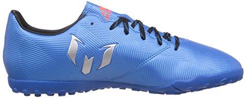 adidas Messi 16.4 Tf, Entraînement de football homme Bleu (Shock Blue/Matte Silver/Core Black)