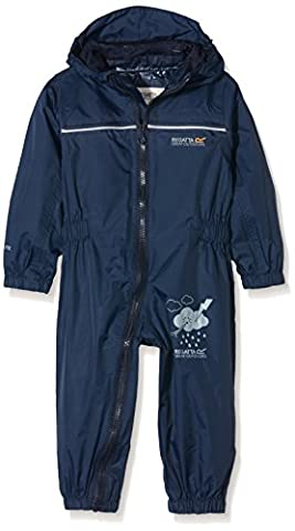 Regatta Kid's Puddle IV All-in-One Suit - Navy, 12-18 Months (86 EU)
