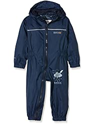 Regatta infantil Puddle IV traje de all-in-One, Niño, color Azul - azul marino, tamaño Size 60 - 72