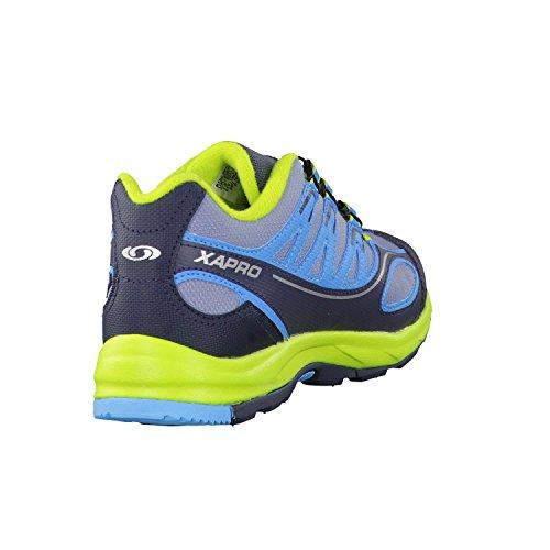 Salomon, Sneaker uomo Blue/Onyx/Yellow gris, azul, verde