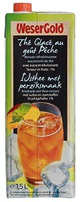 Wesergold Eistee Pfirsich iced tea peach a 1500ml