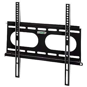 Hama TV Wandhalterung Ultraslim für 81-142cm (32-56 Zoll), für Fernseher bis 50 kg, bis VESA 400 x 400, schwarz