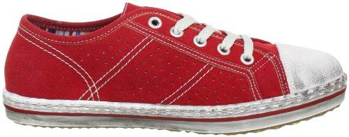 Rieker Kinder Alice K1105, Sneaker ragazza Rosso (Rot (bianco/rosso 33))