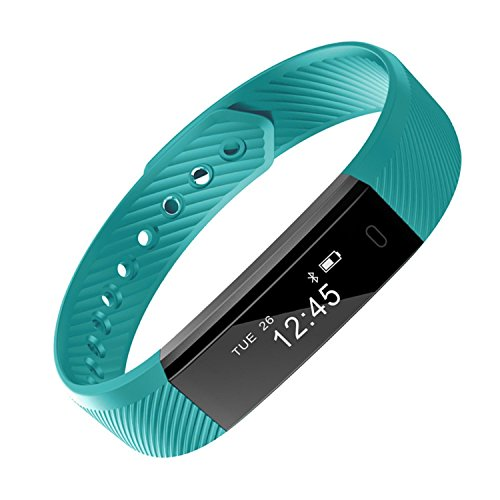 HOTSO Fitness Tracker Activity Tracker Smart Watch With Heart Rate Monitor Pedometer Calories Counter And Sleep Monitor Slim Fitness Wristband For Kids Women Men Lady