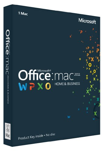 Office für Mac 2011 Home & Business - 1MAC/1User - englisch