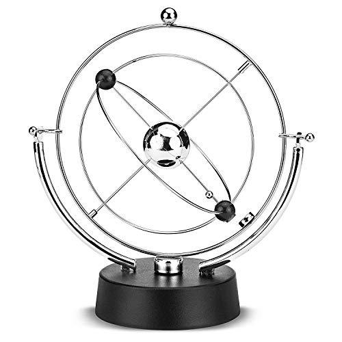 BaiSuiLiang Cosmos Kinetic Perpetual Motion, Elektronische Perpetual Motion Physik Wissenschaft Drehbares Himmelsmodell Kinetic Art Craft Schreibtischdekoration -