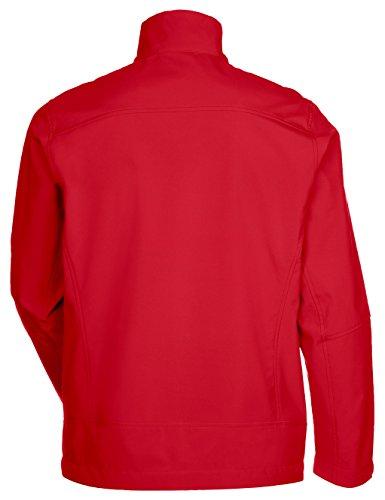 VAUDE giacca da uomo Hurricane Jacket III rosso