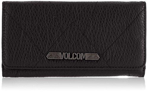 Volcom, Portafoglio Donna Pinky Swear, Nero (Black), 10 x 19 x 7 cm, 0,1 litro