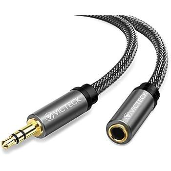 1m Aux Kabel Stereo 3,5mm Klinke Audio Klinkenkabel Für Handy Auto Schwarz Handys & Kommunikation Handy-zubehör