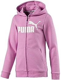 Puma ESS Hooded Chaqueta, Niñas, Orchid, 140