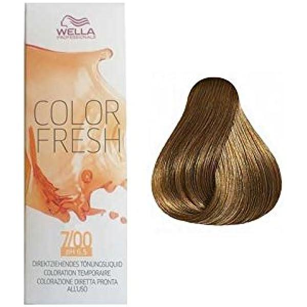 Wella Color Fresh 75ml - 7/00: Amazon.es: Salud y cuidado ...