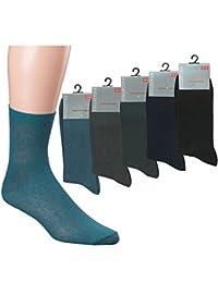 Herrensocken 5er Bündel Socken unifarben Größen 39-42 oder 43-46