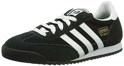 adidas Dragon, Unisex-Erwachsene Sneakers, Schwarz (Black 1/White/Metallic Gold), 48 2/3 EU (13 Erwachsene UK)