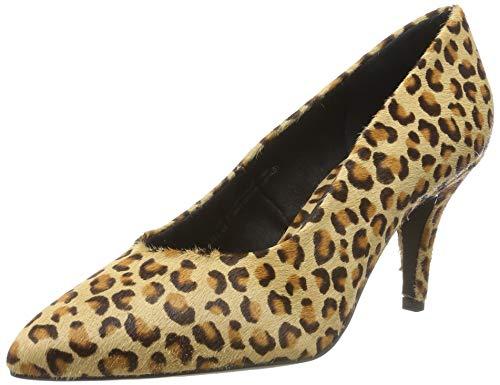 bugatti 412688711900, Zapatos de Tacón para Mujer, Multicolor (Animal Print 8200), 37 EU