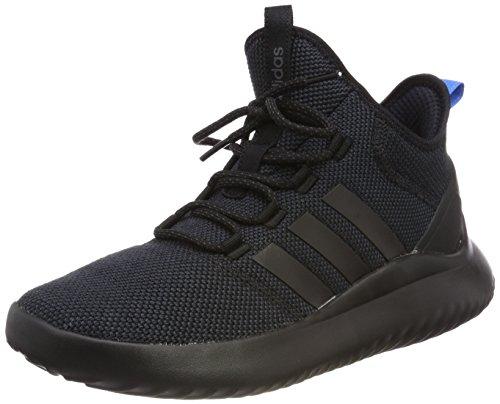 adidas Herren Cloudfoam Ultimate B-Ball DA9655 Sneaker, Mehrfarbig (Black 001), 44 EU
