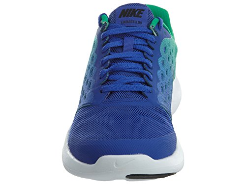 Nike Herren Lunarstelos (Gs) Laufschuhe Blau