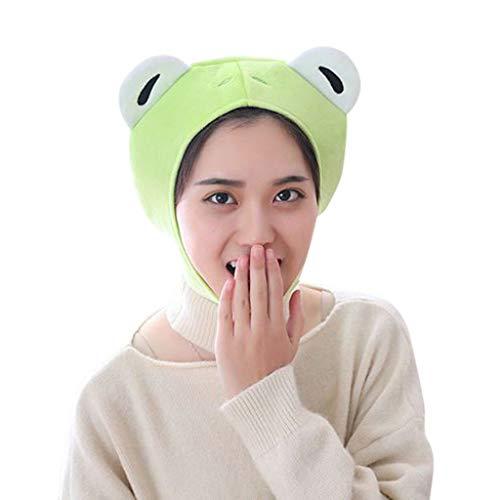 Lonshell Novelty Tier Plüsch-Mütze Themenpartys Kostüm Kopfbedeckung Lustige Tiermütze Fischmütze Faschingshut Karneval Cap ()