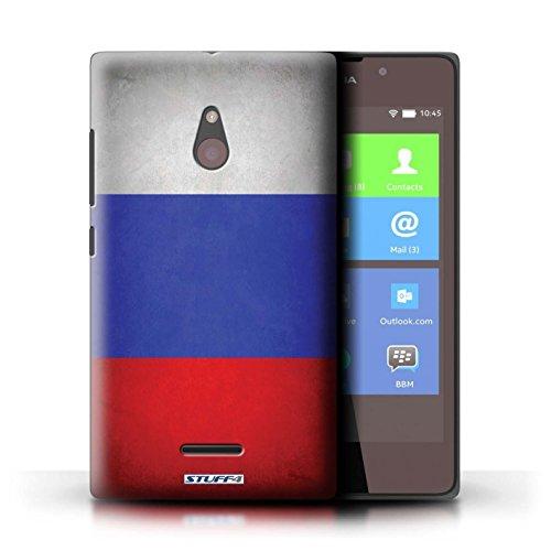 Kobalt® Imprimé Etui / Coque pour Nokia XL / Angleterre/anglais conception / Série Drapeau Russie