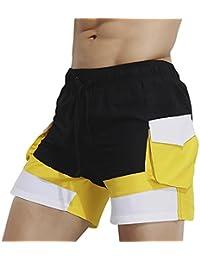 Dolamen Bañador de Natación Boxer para Hombre, 2018 Hombre Bañador Traje de Baño Pantalones Cortos