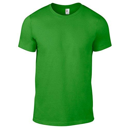 Anvil Herren Modern T-Shirt Apfelgrün