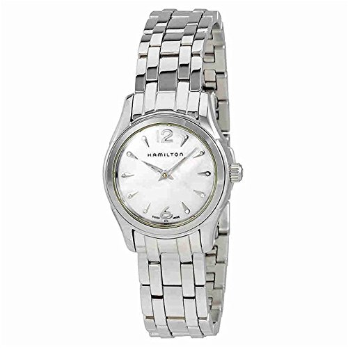 HAMILTON WOMEN'S 29MM STEEL BRACELET & CASE QUARTZ MOP DIAL WATCH H32261197