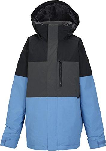 Burton Jungen Snowboardjacke Symbol, tru black block, L, 10132102043 (Jacke-set Tricot)