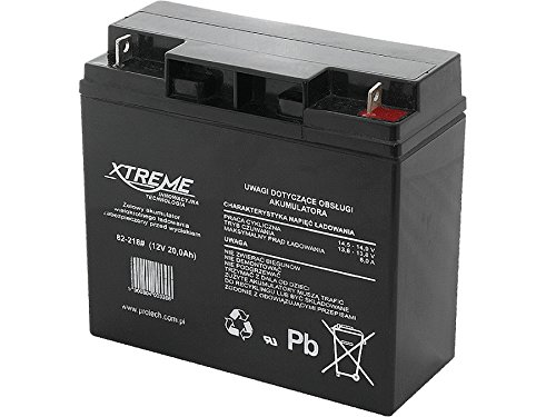 Xtreme Blei-Akku Gel Battery Lead Acid Battery Batterie Akku (12V 20Ah)