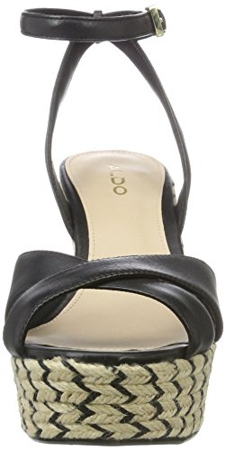 Aldo - Annalynn, Sandali con cinturino Donna Nero (97 Black Leather)