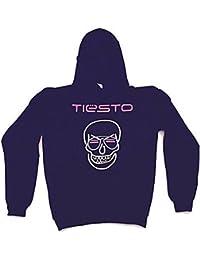 Tiesto - NEON skull - officiel femmes capuche