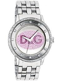 932926a9e6ae Dolce   Gabbana DW0848 - Reloj analógico de cuarzo para mujer con correa de acero  inoxidable