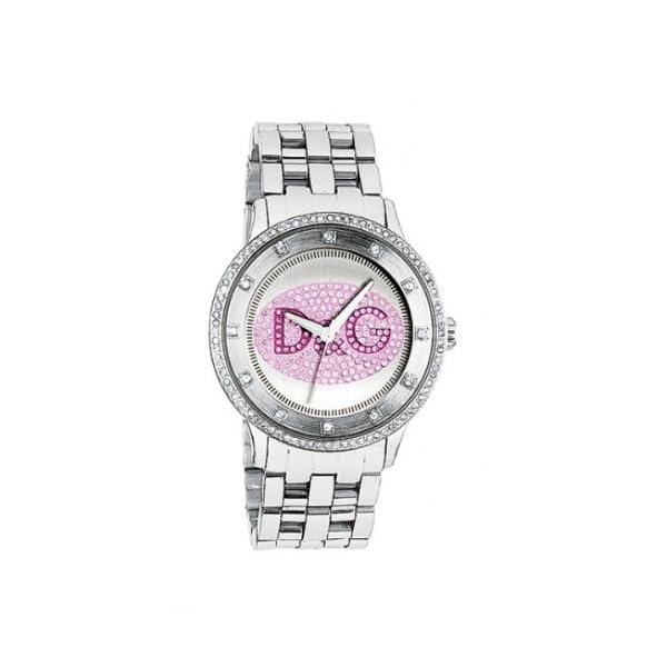 3d9b4f9fd920 Dolce   Gabbana DW0848 – Reloj analógico de Cuarzo para Mujer con Correa de Acero  Inoxidable ...