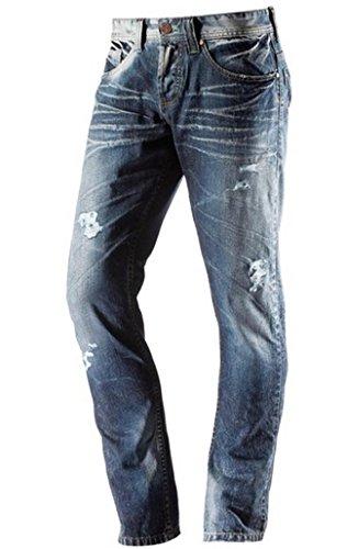 One Green Elephant Herren Skinny Jeans Chico HO3044/108 Blau (Blue)