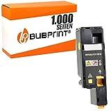 Bubprint Toner kompatibel für Dell 593-11131 XY7N4 für C1660 W C1660W C 1660 W 1.000 Seiten Gelb/Yellow