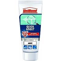 UniBond - Tubo de lechada triple protección antimoho para azulejos, color blanco