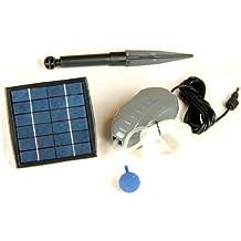 PK Green Ossigenatore Aeratore Solare per Laghetto o Acquario da 1.5W / Pompa Aria
