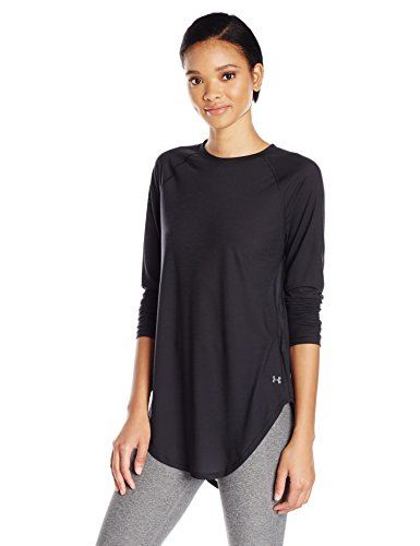 Under Armour Breathe Women's LS Open Back Top - SS17 Black
