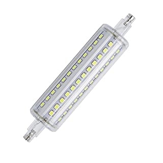 Aoxdi 1X R7S LED 118mm Dimmable Bulb 8W, Cool White, 72 SMD 2835 R7S LED Spotlight Lamp Light, AC85-265V